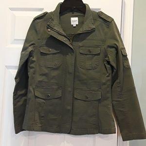 Kenzie green cargo jacket, sz. Medium